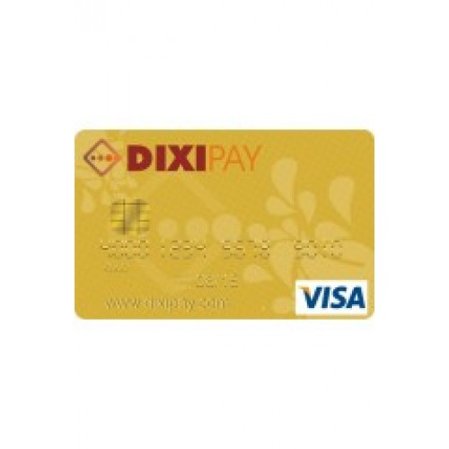 Prepaid Credit Card >> Dixipay Prepaid Visa Card Romania Residents 50 Preloaded
