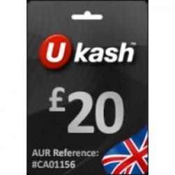 Ukash £ 20 (GBP)