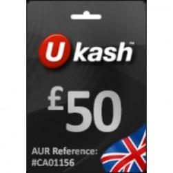Ukash £ 50 (GBP)