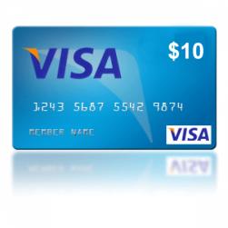 Virtual Visa 10$